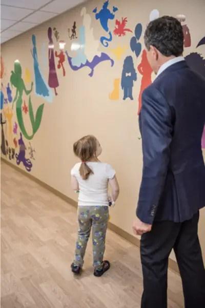 Disney Murals Blank Children's Hospital
