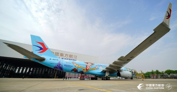 China Eastern Airline's Toy Story Themed Plane Takes Maiden Flight 2