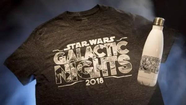 Star Wars Galactic Nights Merchandise
