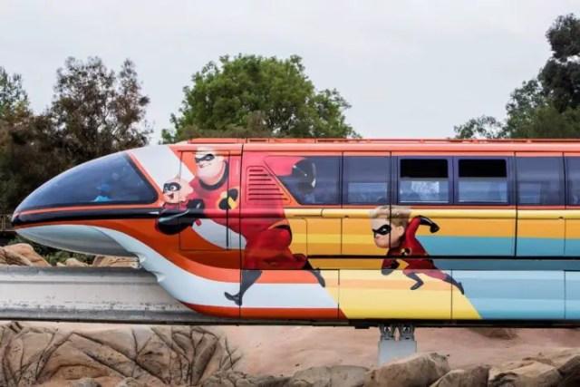 Disneyland Unveils Pixar-themed Monorail Enhancements in Celebration of Pixar Fest 1