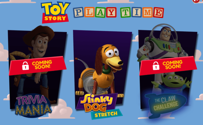 Toy Story Play Time Mini-Games