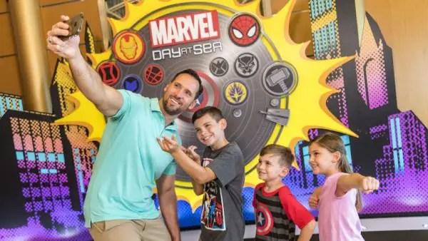 Disney Cruise Celebrates Avengers Infinity War Premiere