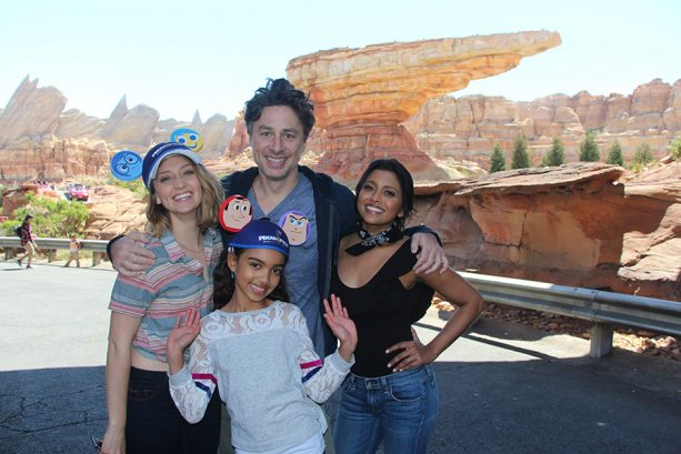 Zach Braff and Friends Visit Pixar Fest 4
