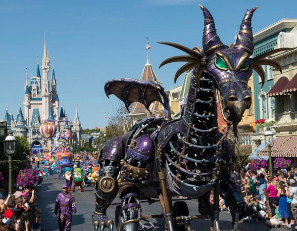 Maleficent float