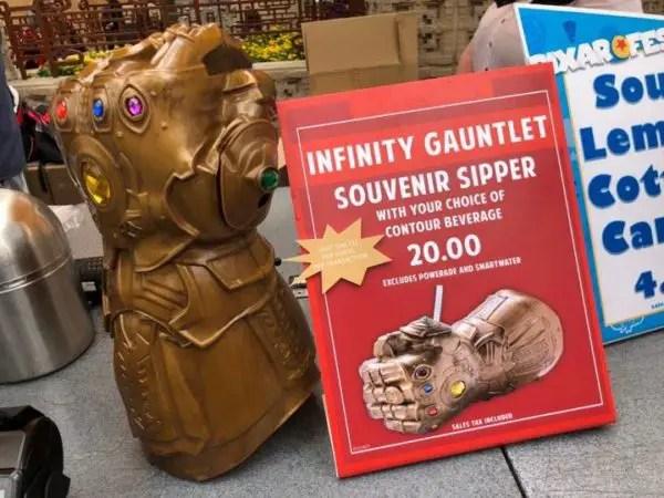 New Infinity Drink Gauntlet Sipper at Disneyland