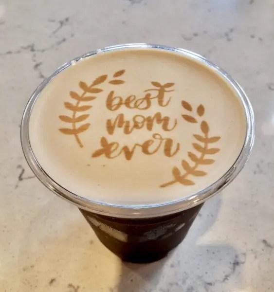 Joffrey's Coffee in Disney Springs Debuts Mother's Day Latte Art 1