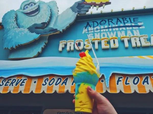 Pixar Pier Frosty Parfait