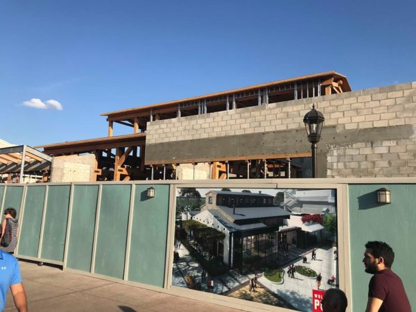 Construction Update on Wolfgang Puck Bar and Grill at Disney Springs 2