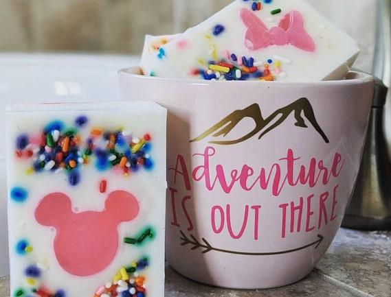 Millennial Pink Mickey Soap