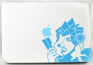 il fullxfull.135947050 300x209 Lady Gaga Telephone Laptop Decals