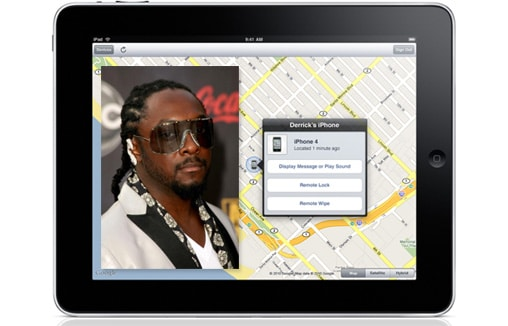 wrappad Rapper Will.i.am Tracks Down Thief Using His iPad