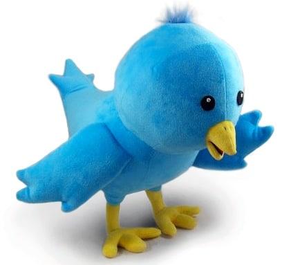 gcase10 Plush Twitter Bird Toy is Cudd.ly