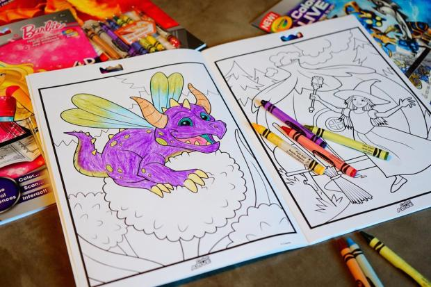 toy fair last month one of our favorites was the crayola color alive easy animation studio a pretty cool toy that combined a coloring book with a - Color Alive Coloring Book