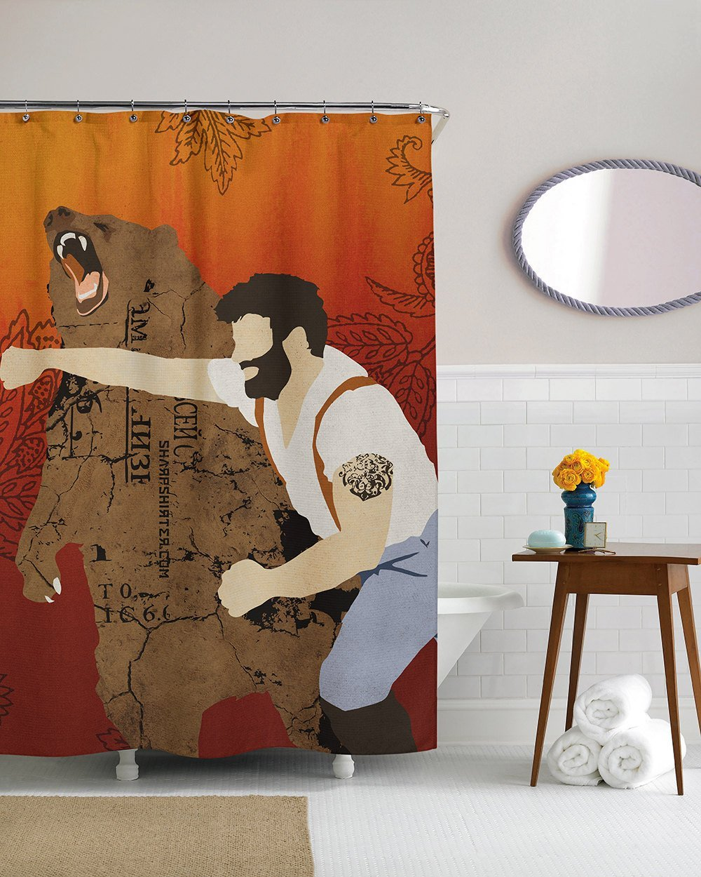 Beautiful Haymaker Shower Curtain