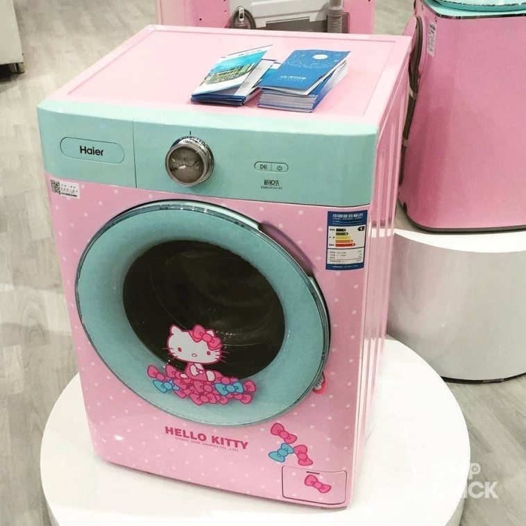 4975b37531b4 Want To Have Your Own Hello Kitty Washing Machine  You re Probably Out of  Luck