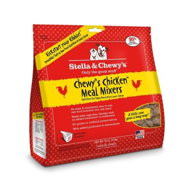 Stella & Chewy's 18oz Chicken Freeze Dried Super Meal Mixers