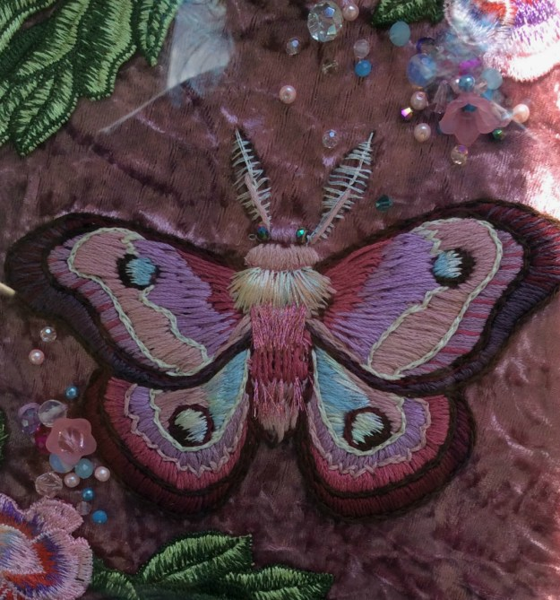 Barbie Dream House Moth by Suzanne Forbes Aug 22 2018 detail