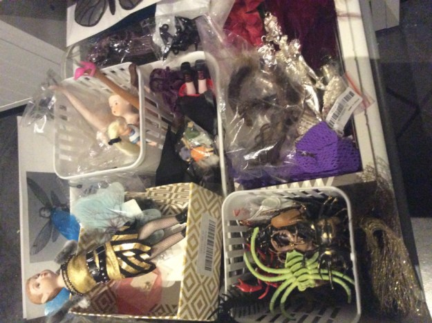 Weasel feet in the doll parts drawer