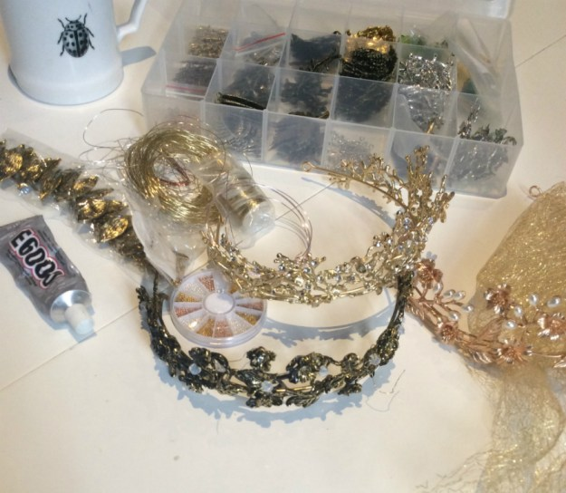 Metal crown project march 2019 Suzanne Forbes