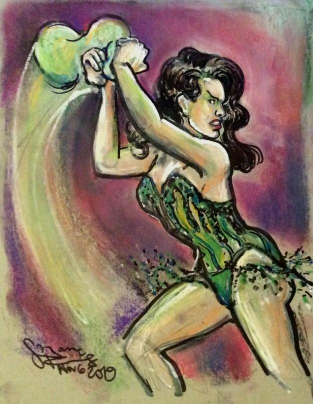 Lexy Nightcat at Extravagant Shambles Nov 6 Suzanne Forbes