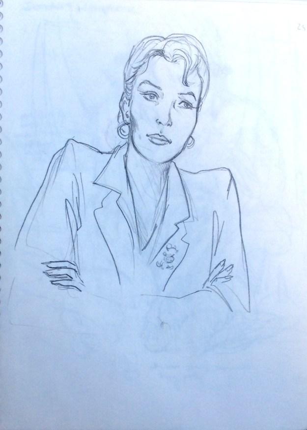 Debbie in West Hartford Nov 1995 by Rachel Ketchum aka Suzanne Forbes