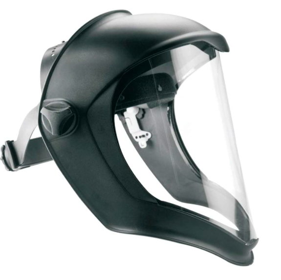 Honeywell Bionic face shield with polycarbonate lens