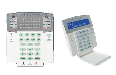 Paradox Alarm Keypads