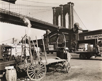 Samuel H. Gottscho Brooklyn Bridge