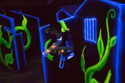 activité laser game spécial enterrement de vie de jeune fille