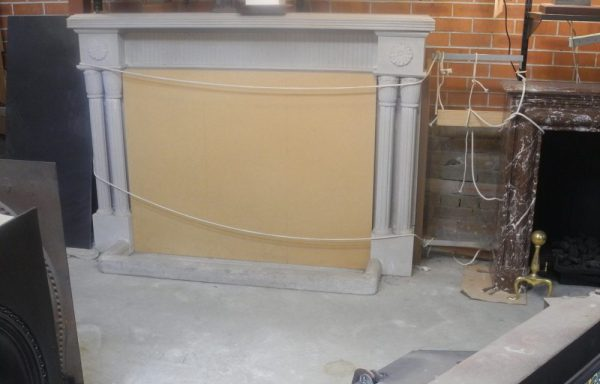 Moulded Stone Fireplace