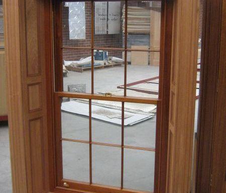 Double Hung 12 Lite Window
