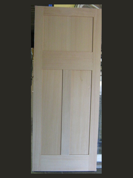 new 3 Three panel federation internal door