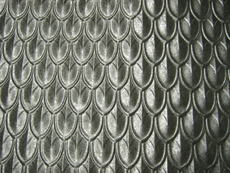 Fishscale Tin Panel