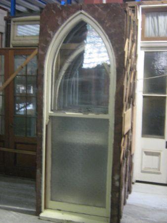 original gothic windows double hung second hand window