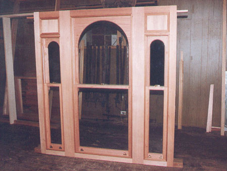 past joinery job tripple arched victorian window