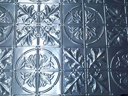 pressed tin panels aluminium reproduction large maple