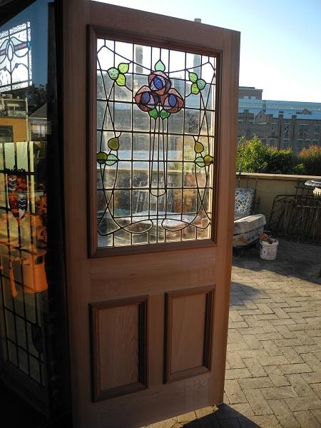 new leadlight front door nouveau