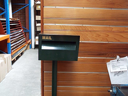 letterboxes mailboxes sydney post box brass fronted pillar horizontal nuline