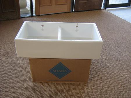 Shaws Fireclay Shaker Sink