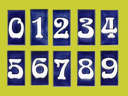 Porteous Tiles Numbers
