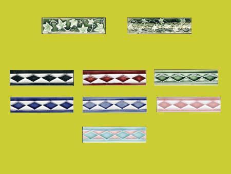 new reproduction ceramic victorian federation art nouveau tiles trim tiles