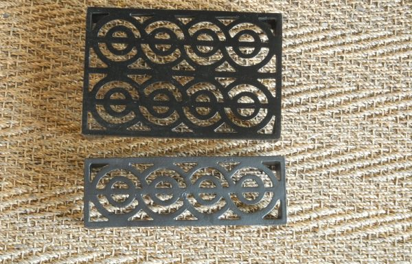 Cast Iron Sub Floor Vents Number 2 Large  and Small