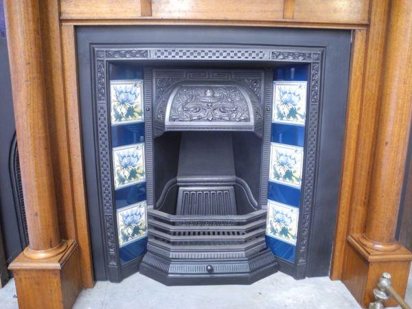 original secondhand sydney restored arched tiled victorian federation cast iron grates register
