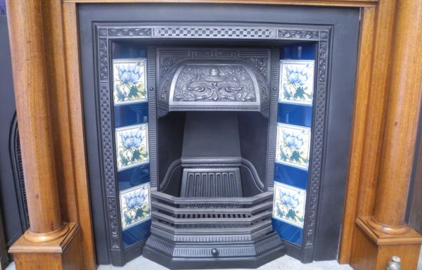Restored 340 with  Urn Hood – Tiled Grate