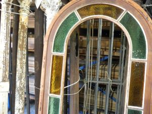 sydney second hand arched colonial window