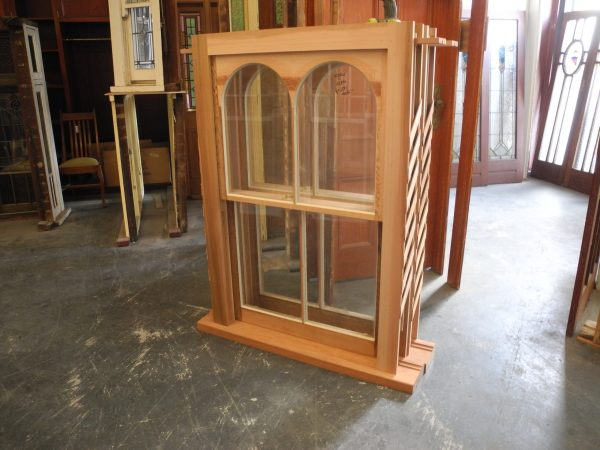 New double arched double hung window