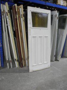 Original 1920s Edwardian Front Door