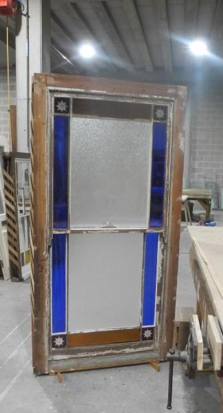 Original Victorian Cedar Margin Lite Window