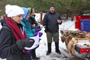 Mike begins by talking about how animal pelts differ between winter and summer