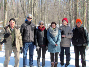 February 28, 2015 was a nice day for walk at Sylvan Solace